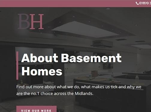 https://basementhomes.co.uk/ website